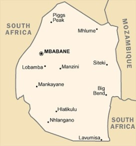 map_swaziland