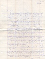 Pete's letter