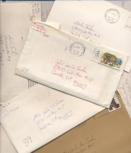 Pete's letters