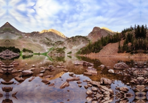 Lake Agnes_COStateForestSP_LAH_8222 p_filt 24 x 36 gallery wrap