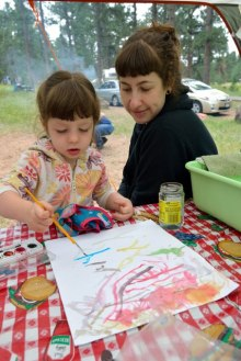 Nora painting_ColoradoCampground-CO_LAH_1547