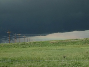 Approaching storm @ SWA along I-76 to Brush LAH 028f