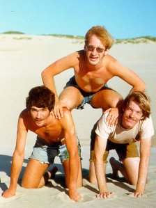 1977 - mikepetedave pyramid