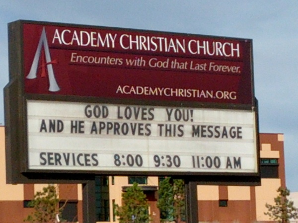 God approves this message249